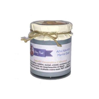 Bote pintura para decoración color Azul Nautico 250 ml - Decoracíon de muebles antiguos estilo Shabby Chic, Provenzal, Rómantico, Nórdico