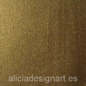 Pintura para decoración color Bronce Metalizado - Decoracíon de muebles antiguos estilo Shabby Chic, Provenzal, Rómantico, Nórdico