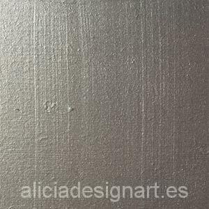 Pintura para decoración color Plata Metalizado - Decoracíon de muebles antiguos estilo Shabby Chic, Provenzal, Rómantico, Nórdico