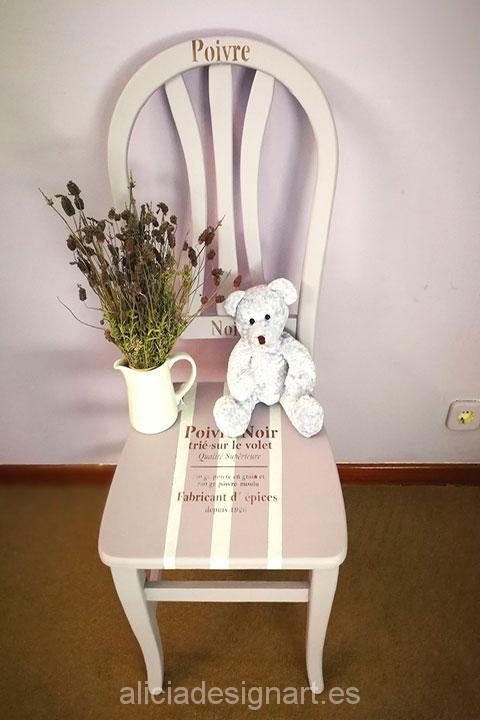 silla-vintage-provenzal-malva-y-blanca-estilo-shabby-chic-romántica