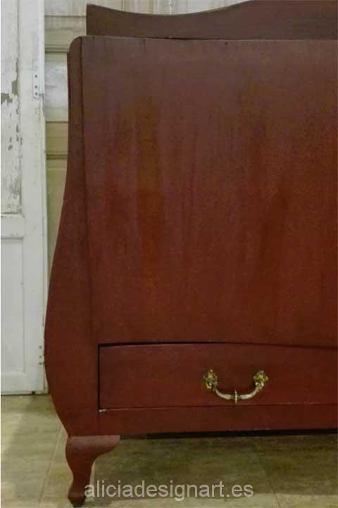 C moda abombada ba l rococ estilo luis xvi alicia designart - Muebles estilo romantico ...