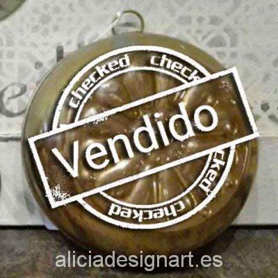 Molde antiguo de cobre. Atrezo, attrezzo, atrezzo, antiguedad, decoración