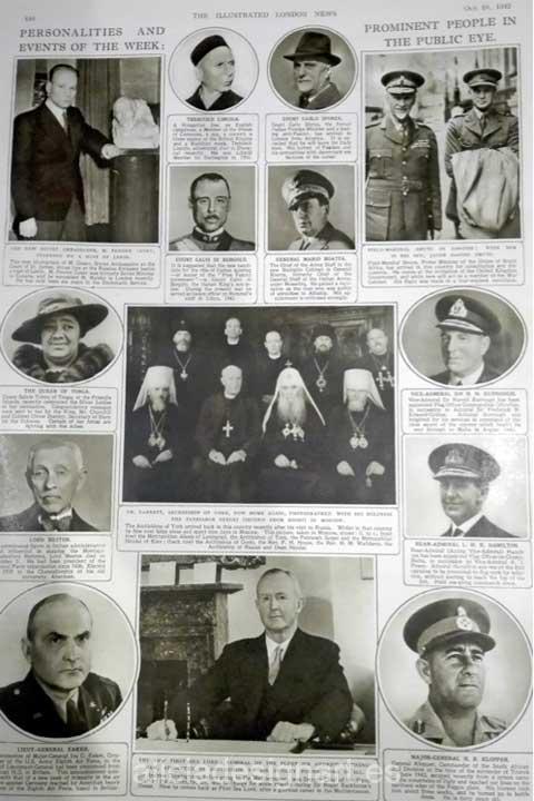 Periodico ingles de 1943 interior - Decoracíon de muebles antiguos estilo Shabby Chic, Provenzal, Rómantico, Nórdico
