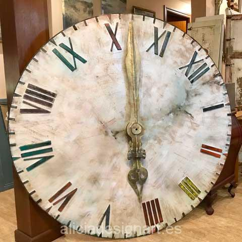 Reloj Vintage XL de grandes dimensiones