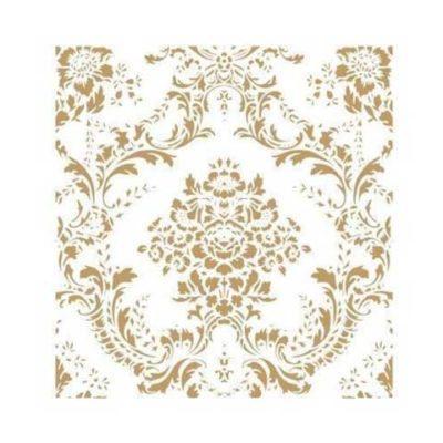 Stencil para decoración Fondo Floral Shabby Chic - Decoracíon de muebles antiguos estilo Shabby Chic, Provenzal, Rómantico, Nórdico