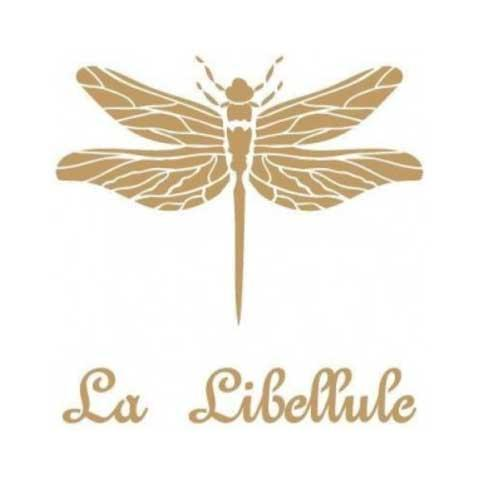 Stencil para decoración La Libellule - Decoracíon de muebles antiguos estilo Shabby Chic, Provenzal, Rómantico, Nórdico