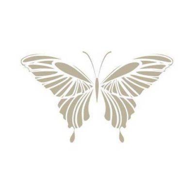 Stencil para decoración vintage mariposa mini - Decoracíon de muebles antiguos estilo Shabby Chic, Provenzal, Rómantico, Nórdico