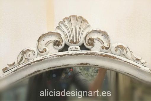copete-espejo-antiguo-decapado-blanco-efecto-tiza-Alicia-Designart