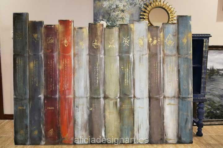 Cabecero por encargo - Decoracíon de muebles antiguos estilo Shabby Chic, Provenzal, Rómantico, Nórdico