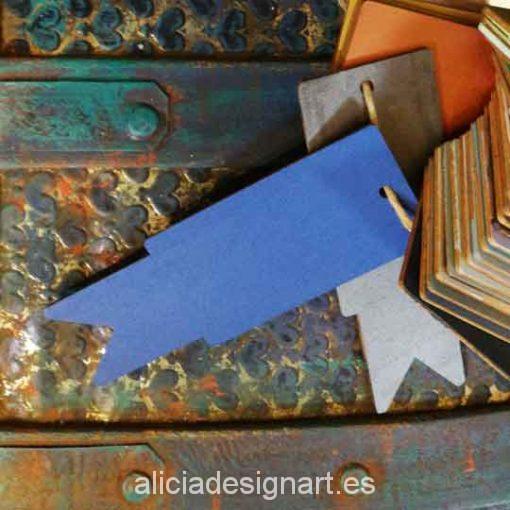 Bote de pintura para decoración de muebles color Azul Mediterráneo - Decoracíon de muebles antiguos Madrid estilo Shabby Chic, Provenzal, Rómantico, Nórdico