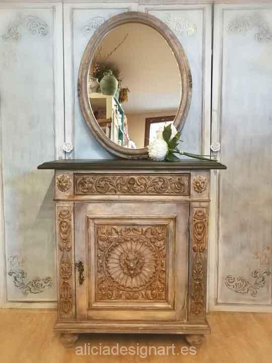 Taquill n vintage recuperado y decorado por encargo - Muebles antiguos madrid ...