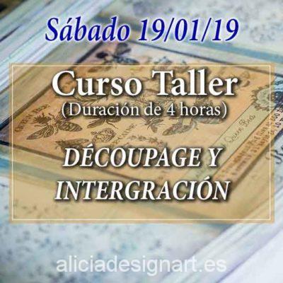 Curso para aprender a decorar muebles de colores, estilo Vintage - Tienda de productos de decoración en Madrid. Plantillas de stencil, papel decoupage, pintura decoración, Shalk Paint, accesorios