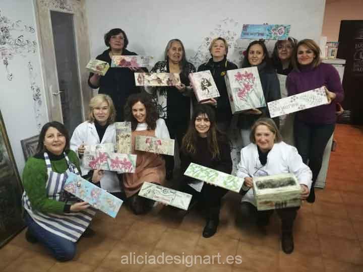 Cursos de decoración y talleres Alicia Designart: un enfoque más artístico que de manualidades