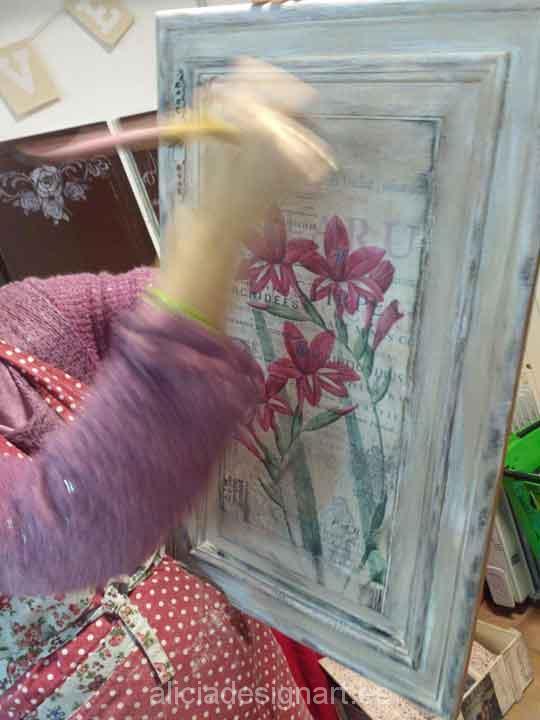 Cursos de decoración de muebles, talleres, clases y workshop - Taller de decoración de muebles antiguos en Madrid Alicia Designart