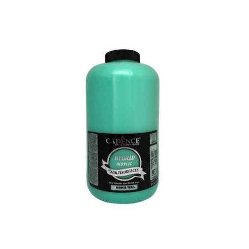 Pintura acrílica Cadence Hybrid verde menta H044 2 litros - Decoración de muebles antiguos estilo Shabby Chic, Provenzal, Romántico, Nórdico