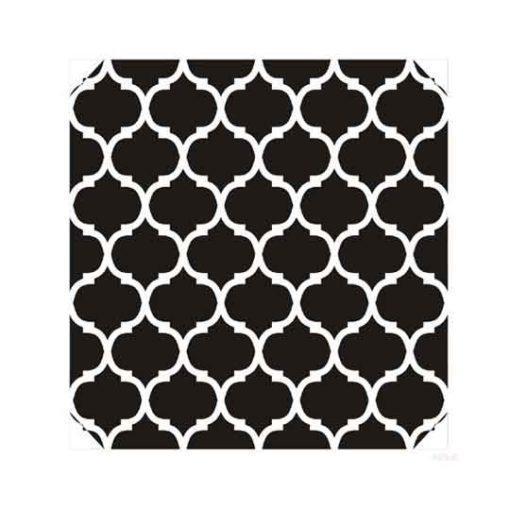 Plantilla de stencil estarcido XL Marruecos Cadence - Taller decoración de muebles antiguos Madrid estilo Shabby Chic, Provenzal, Romántico, Nórdico