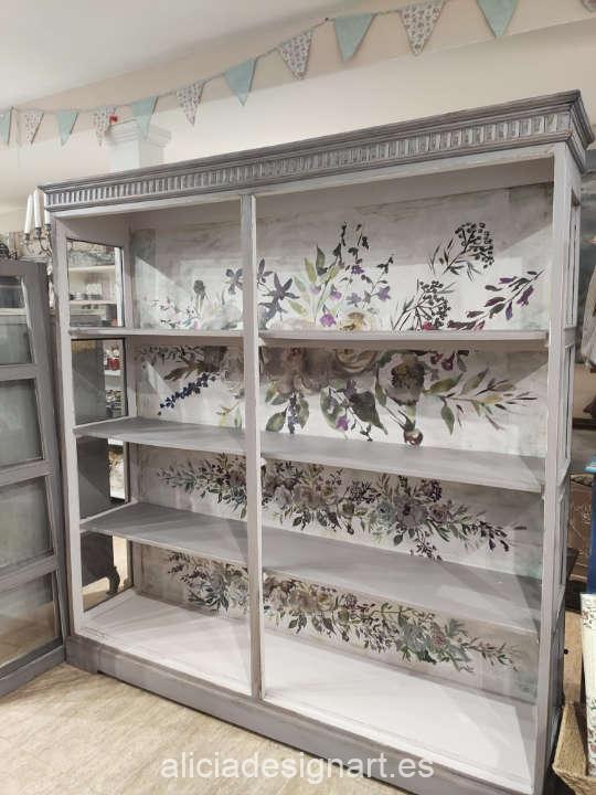 Mueble pintado con pintura acrílica Cadence Hybrid Soho H083 - Decoración de muebles antiguos estilo Shabby Chic, Provenzal, Romántico, Nórdico