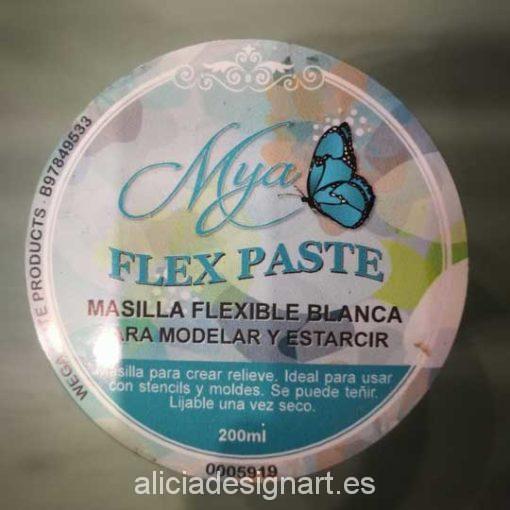 Flex Paste masilla de relieve 200 ml - Decoración de muebles antiguos estilo Shabby Chic, Provenzal, Romántico, Nórdico
