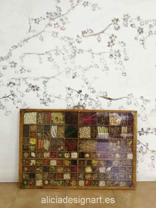 Cajón de chibalete de madera maciza farmerhouse - Taller decoración de muebles antiguos Madrid estilo Shabby Chic, Provenzal, Romántico, Nórdico
