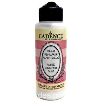 Pegamento para decoupage de papel de arroz sobre tela 120 ml Cadence 889003 - Tienda de productos de decoración para muebles antiguos