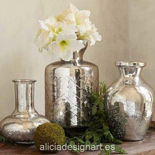 Pintura para decoración efecto espejo color plata Mirror Effect de Cadence 888974 - Taller decoración de muebles antiguos Madrid estilo Shabby Chic, Provenzal, Romántico, Nórdico