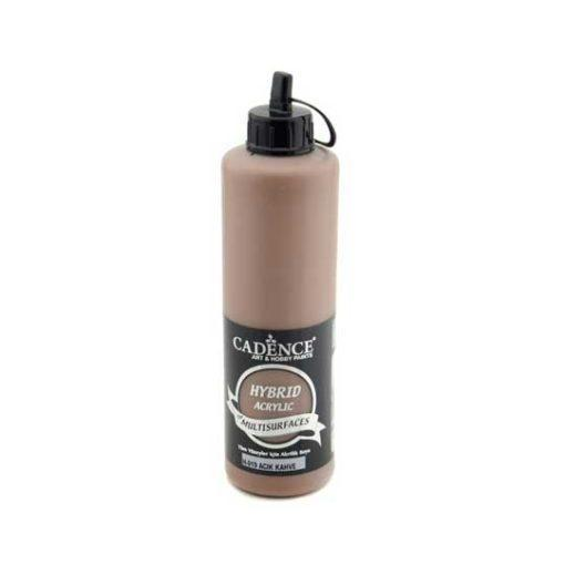 Pintura para decoración multisuperficie color marrón claro de Cadence H019 500ml - Taller decoración de muebles antiguos Madrid estilo Shabby Chic, Provenzal, Rómantico, Nórdico