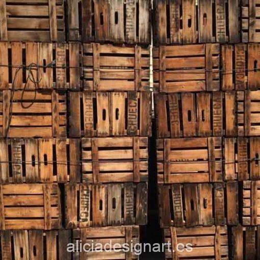 Curso taller de decoración de muebles estilo Industrial y Steampunk 191019 cajas vintage - Taller de decoración de muebles antiguos Alicia Designart Madrid
