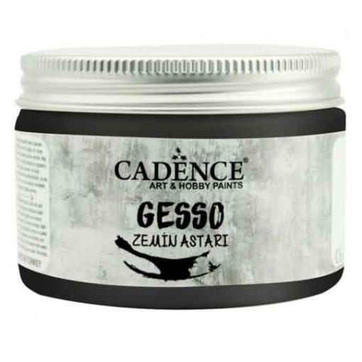 Pasta Gesso color negro para imprimación, 150 ml de Cadence 889252 - Tienda de productos de decoración para muebles antiguos