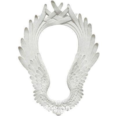 Marco decorativo con alas cruzadas, en resina de poliuretano para decorar, Cadence 1919 - Taller decoración de muebles antiguos Madrid estilo Shabby Chic, Provenzal, Romántico, Nórdico