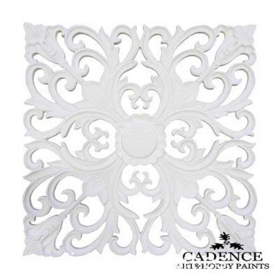 Placa decorativa 2, en resina de poliuretano para decorar, Cadence 1899 - Taller decoración de muebles antiguos Madrid estilo Shabby Chic, Provenzal, Romántico, Nórdico