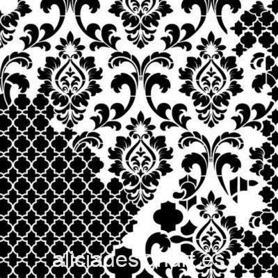 Plantilla de stencil steampunk estarcido XL Grunge Collection de Cadence GCS01 - Taller decoración de muebles antiguos Madrid estilo Shabby Chic, Provenzal, Romántico, Nórdico