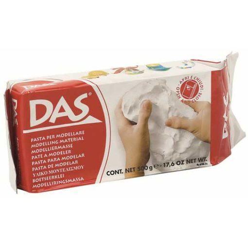 Pasta para moldear y de relieve lisa blanca de DAS ref 29621 - Taller de decoración de muebles antiguos Madrid estilo Shabby Chic, Provenzal, Rómantico, Nórdico