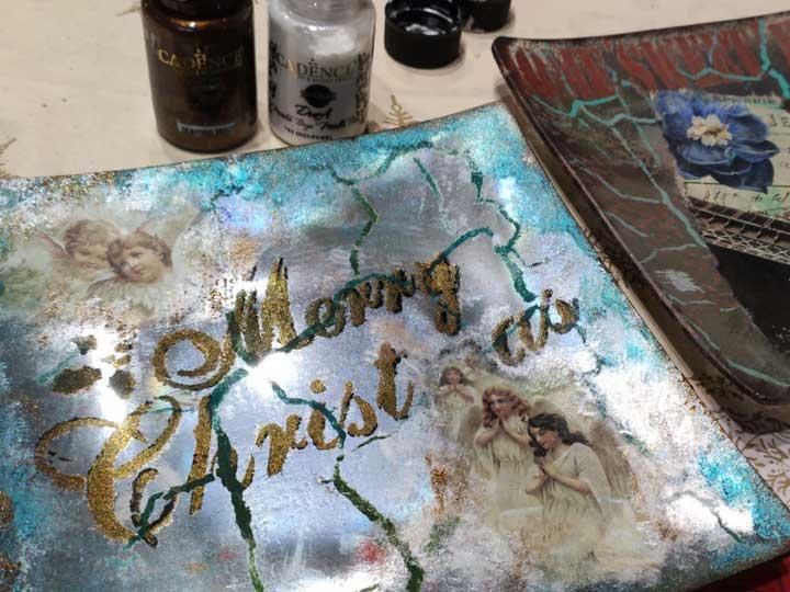 Pinturas y productos de decoración Cadence probados en 2019 y su uso (parte 1)