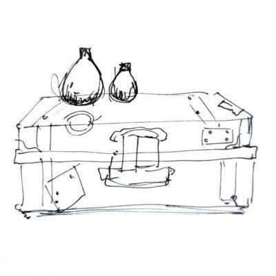 Baúl decorado por encargo exclusivamente para ti - Taller decoración de muebles antiguos Madrid estilo Shabby Chic, Provenzal, Romántico, Nórdico