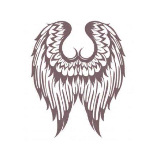 Plantilla de stencil estarcido alas grandes de Cadence Shadow KS102 - Taller decoración de muebles antiguos Madrid estilo Shabby Chic, Provenzal, Romántico, Nórdico