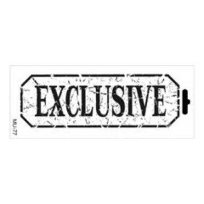 Plantilla de stencil estarcido Mix Media con sello Exclusive distress de Cadence MU077 - Taller decoración de muebles antiguos Madrid estilo Shabby Chic, Provenzal, Romántico, Nórdico