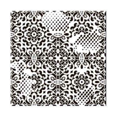 Plantilla de stencil steampunk estarcido Grunge Midi de Cadence GCS006 - Taller decoración de muebles antiguos Madrid estilo Shabby Chic, Provenzal, Romántico, Nórdico