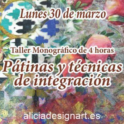 Curso taller de decoración de muebles y Home Decor técnicas de pátinas e integración 30 de marzo 2020 - Taller de decoración de muebles antiguos Alicia Designart Madrid
