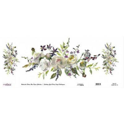 Papel de arroz de muy gran formato en rollo de Cadence, 90 x 214 cm, ref wfcr020 - Taller decoración de muebles antiguos Madrid estilo Shabby Chic, Provenzal, Romántico, Nórdico