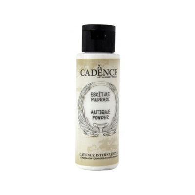 Pátina Antique Powder color blanca de Cadence 70 ml ref AP700 - Taller de decoración de muebles antiguos Madrid estilo Shabby Chic, Provenzal, Romántico, Nórdico