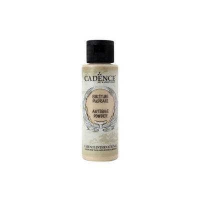 Pátina Antique Powder color crema de Cadence 70 ml ref AP701 - Taller de decoración de muebles antiguos Madrid estilo Shabby Chic, Provenzal, Romántico, Nórdico