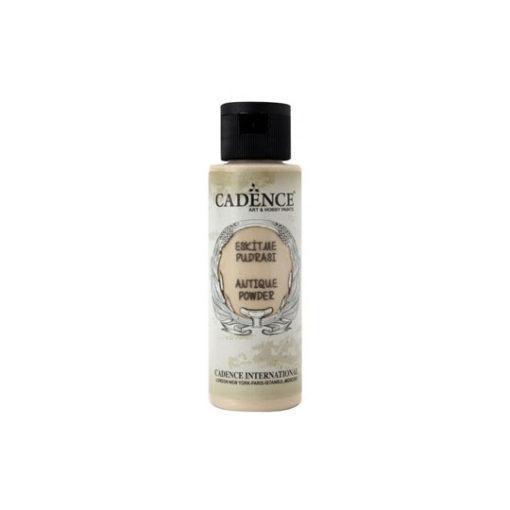 Pátina Antique Powder color crema de Cadence 70 ml ref AP701 - Taller de decoración de muebles antiguos Madrid estilo Shabby Chic, Provenzal, Romántico, Nórdico