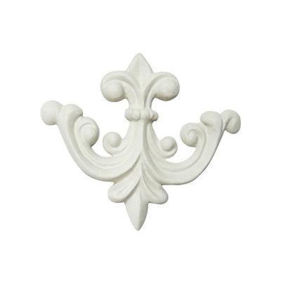 Aplique decorativo con forma de flecha en resina de poliuretano para decorar, Cadence 1909 - Taller decoración de muebles antiguos Madrid estilo Shabby Chic, Provenzal, Romántico, Nórdico