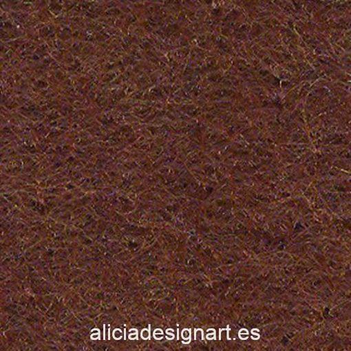 Plancha de fieltro 20 x 30 cm color marrón claro 28764 - Tienda de productos de decoración de muebles