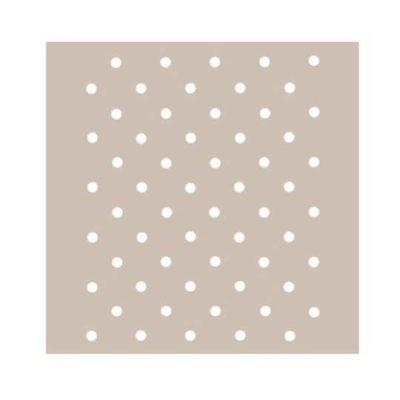 Plantilla de stencil estarcido con lunares polka dots AS433 - Taller decoración de muebles antiguos Madrid estilo Shabby Chic, Provenzal, Romántico, Nórdico