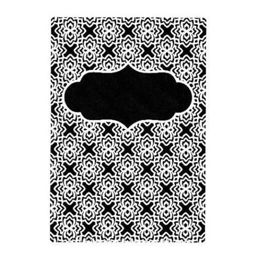 Plantilla de stencil estarcido Background con fondo oriental adamascado de Cadence Home Decor NBS018 - Taller decoración de muebles antiguos Madrid estilo Shabby Chic, Provenzal, Romántico, Nórdico
