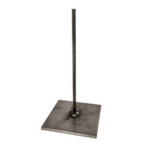Peana de metal para resina ref METAL1 - Taller decoración de muebles antiguos Madrid estilo Shabby Chic, Provenzal, Romántico, Nórdico