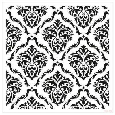 Plantilla de stencil estarcido Home Decor Midi HDM69 - Taller decoración de muebles antiguos Madrid estilo Shabby Chic, Provenzal, Romántico, Nórdico
