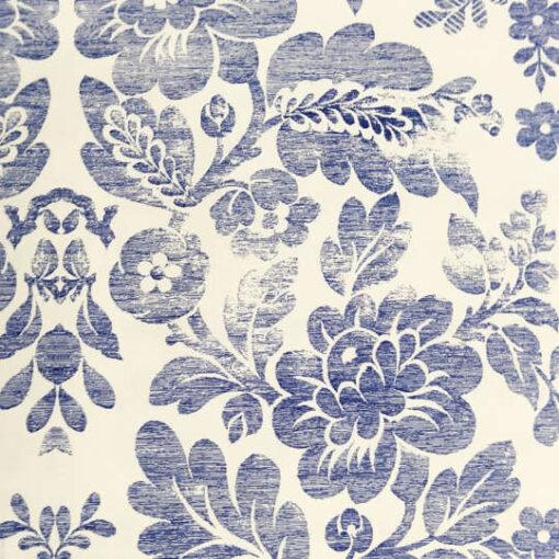 Papel florentino decorativo Brocade Flowers de Rossi ref: TSC030 - Taller decoración de muebles antiguos Madrid estilo Shabby Chic, Provenzal, Romántico, Nórdico