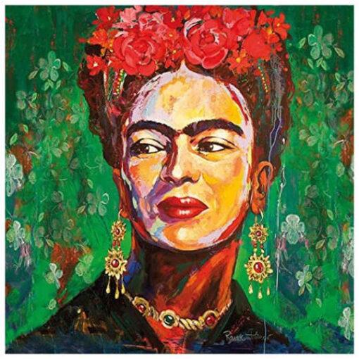 "Servilleta para découpage con retrato Frida Kahlo ""Salma"" - Decoración de muebles antiguos estilo Shabby Chic, Provenzal, Romántico, Nórdico"